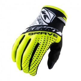 KENNY Gloves Brave Neon Yellow